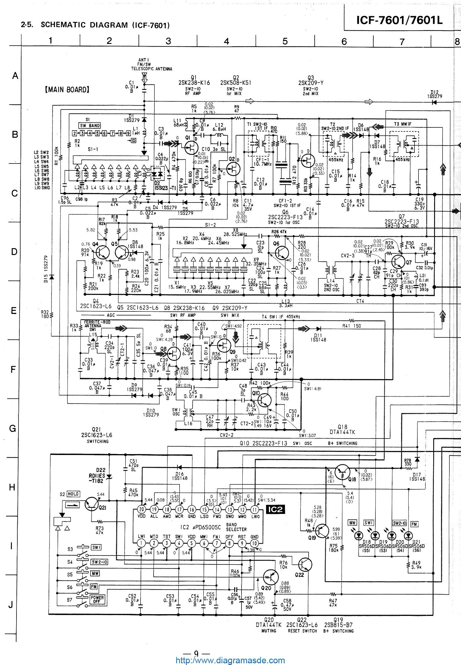 ICF 7601 Schematic pdf ICF 7601 Schematic pdf