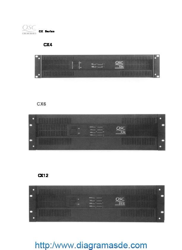 QSC CX4, CX6, CX12 power amp.pdf