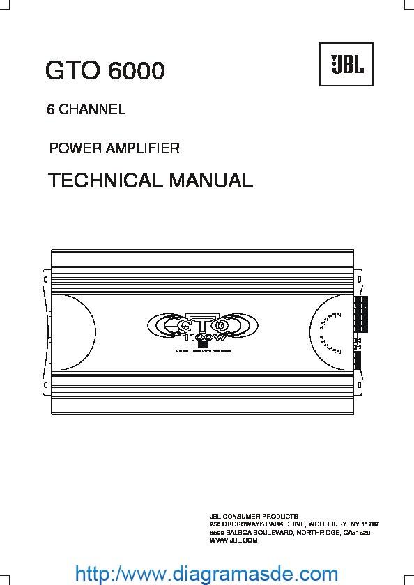 JBL GTO 6000 AMPLIFIER.pdf