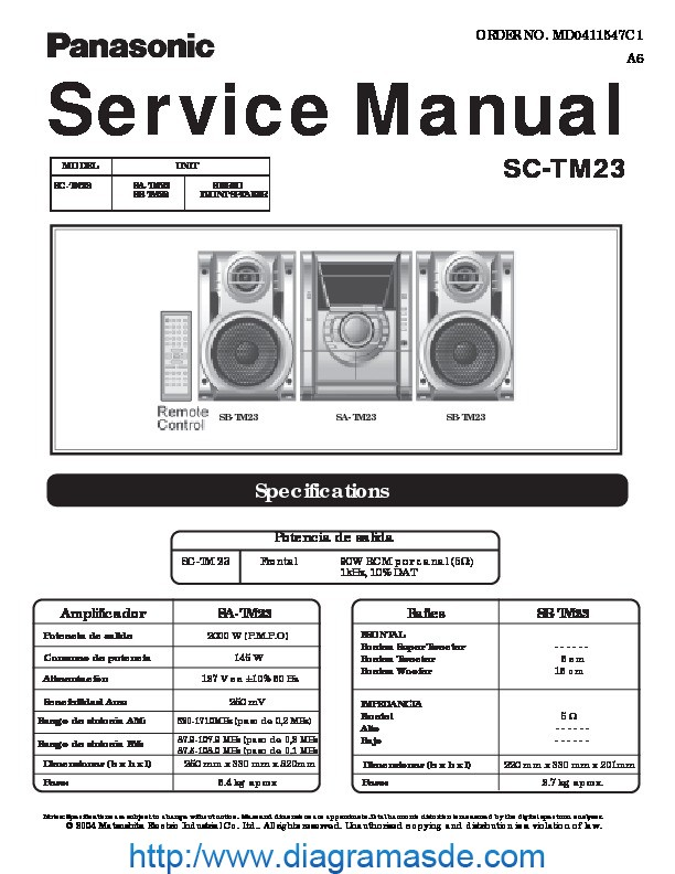 Mackie M1400i Service Manual.rar