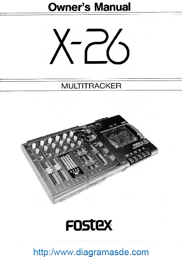 Fostex x26 owners manual.pdf