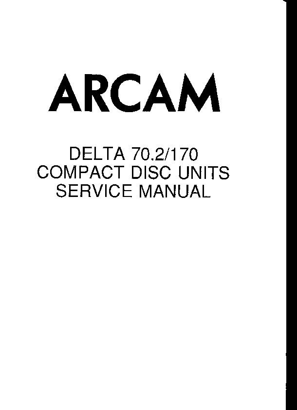 Arcam Delta 70.2, 170.pdf