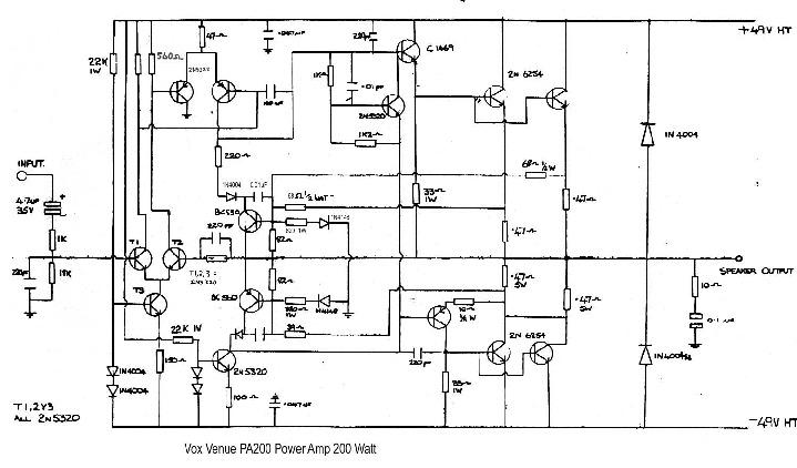 VOX 200w poweramp - PA200 - 1985.pdf
