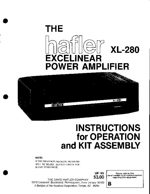 Hafler XL280.pdf