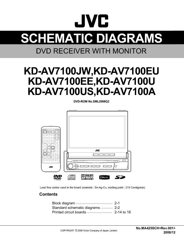 JVC KD-AV7100 Diagrama Esquematico.pdf