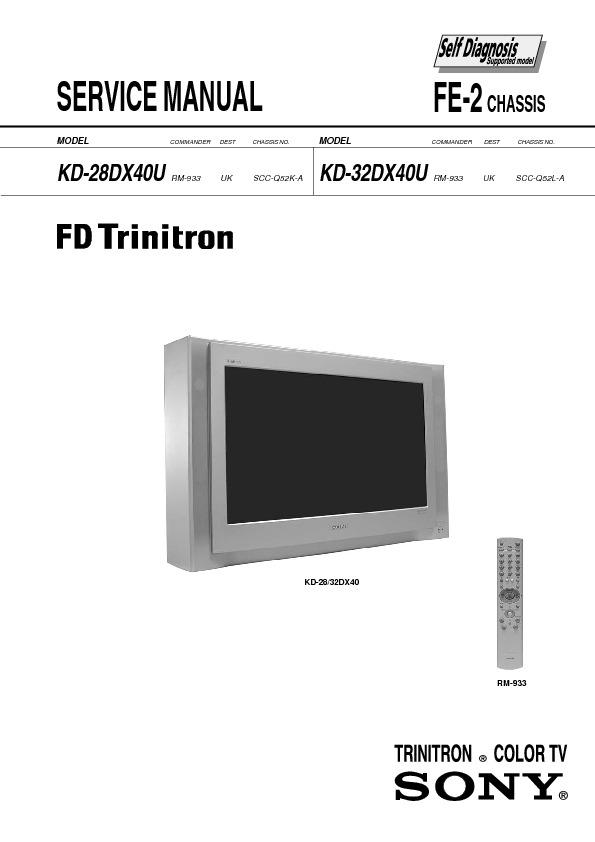 FE-2 CHASSIS KD-28DX40U KD-32DX40U.pdf