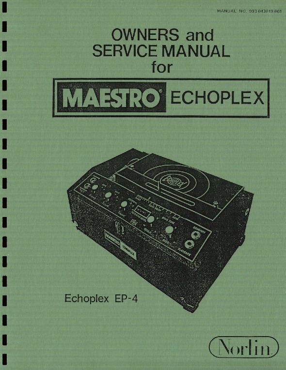 Maestro Echoplex EP-1, EP-2, EP-3, EP-4, SIREKO SE-1.pdf