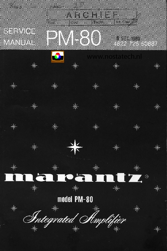 MARANTZ - PM 80 - Service Manual.pdf