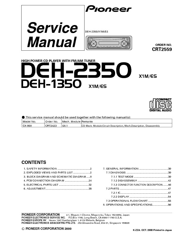 DEH-2350,1350_high power cd player with tuner.pdf