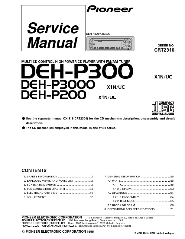 DEH-P300,3000,200_multi-cd high power cd player with tuner.pdf