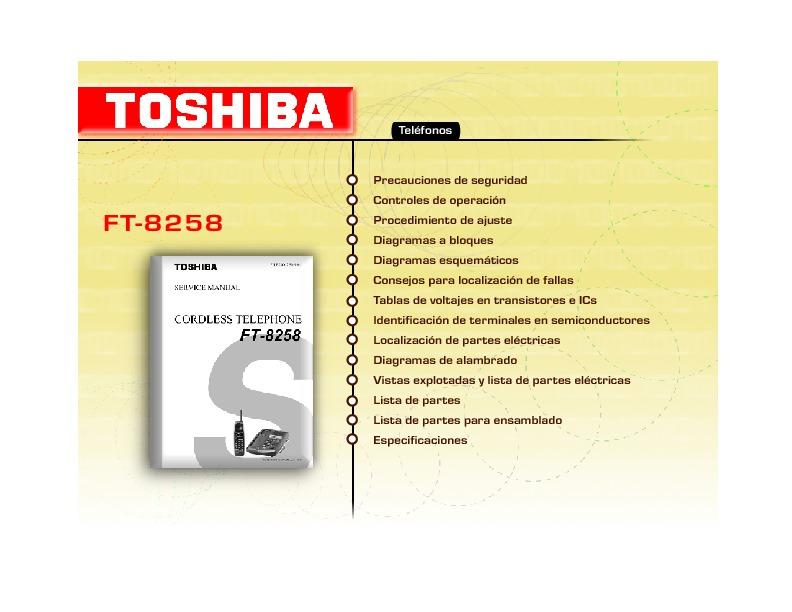 TOSHIBA FT-8258.pdf