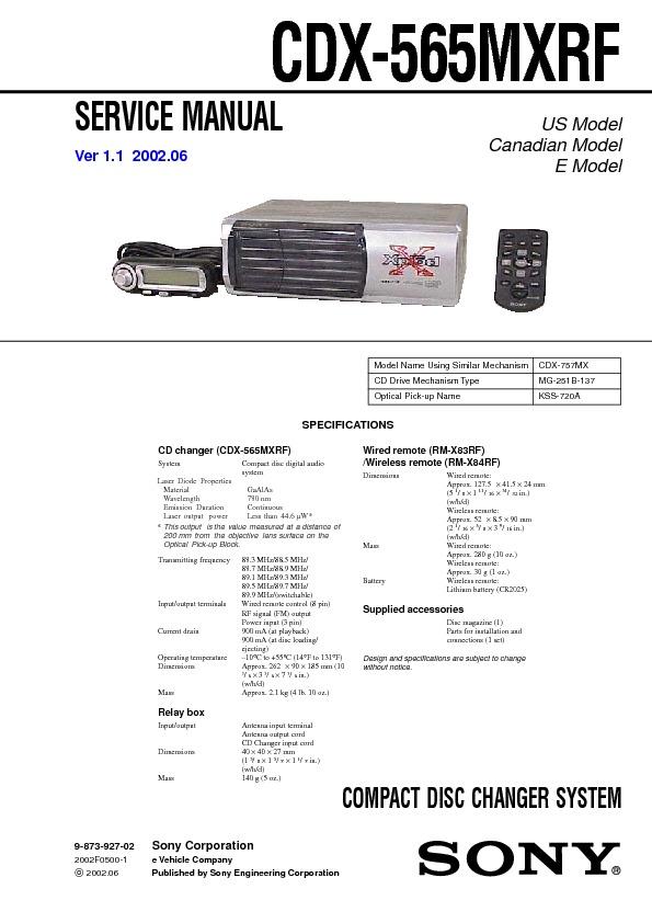 Sony CDX-565MXRF_service.pdf