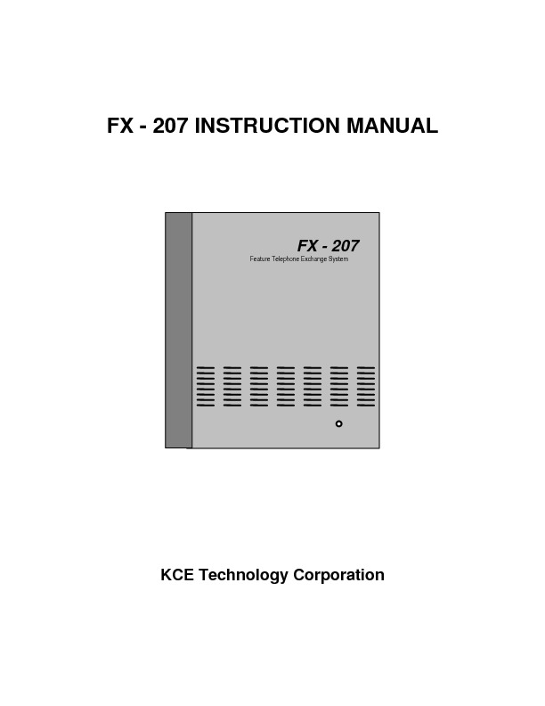 KCE FX-207 Manual.pdf