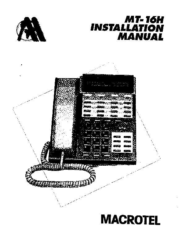 Macrotel MT-16H Installation Manual.pdf