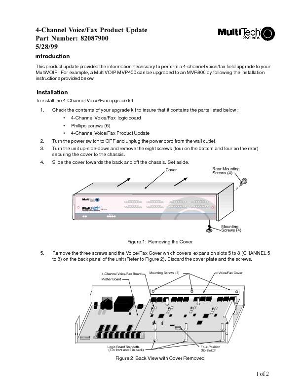 Multitech MVP 4-8 Product Update 4 Channel Voice - Fax.pdf