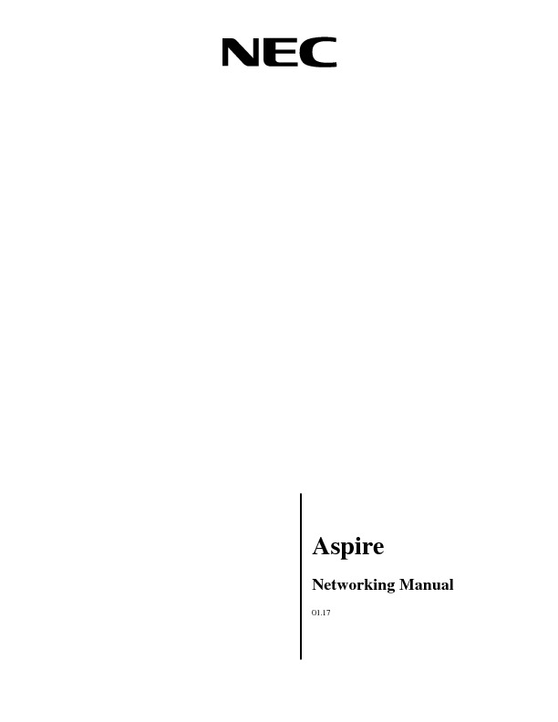NEC Aspire Networking Manual 0117.pdf