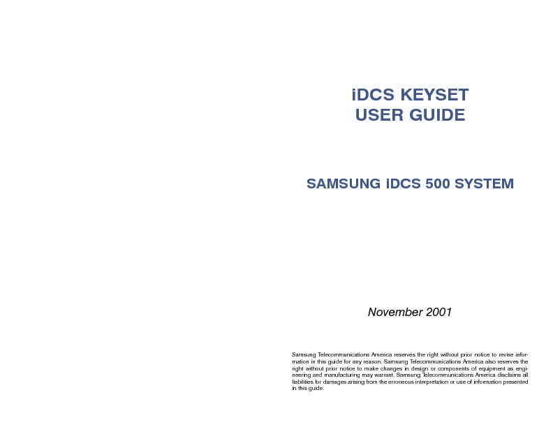 Samsung iDCS 500 Key Set User Guide.pdf