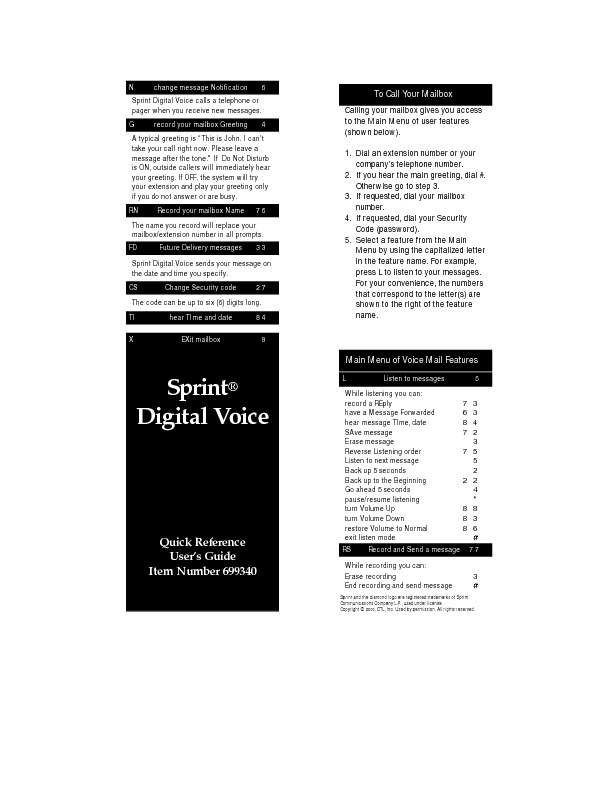Sprint Digital Voice Quick Reference Guide.pdf