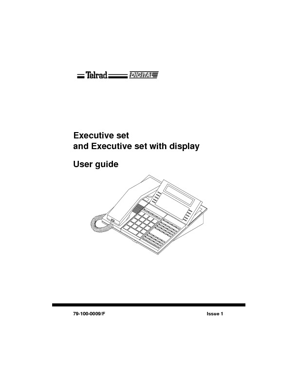 Executive Set And Executive Set With Display User Guide Issue 1.pdf
