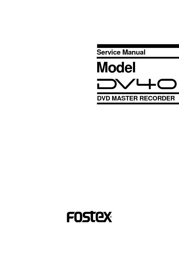 Fosterx DV40_SM dvd master recorder.pdf