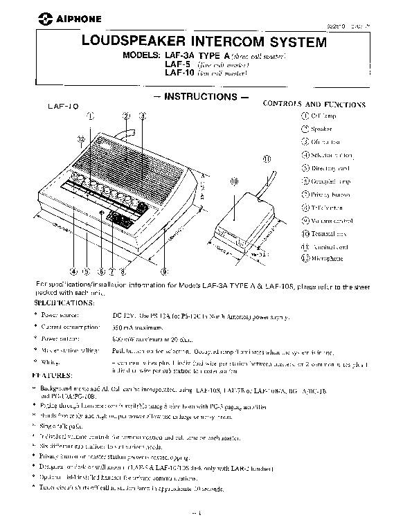 ST 300 | Resultados de la búsqueda | Diagramasde.com ... Hm Aiphone Intercom Wiring Diagram on