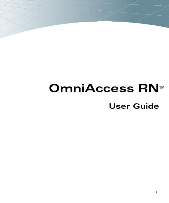 Alcatel OmniAccess RN User Guide.pdf