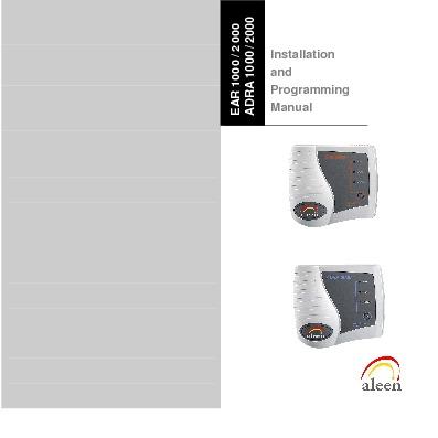 Aleen ADRA 1000 - 2000 Install And Prog R2.pdf