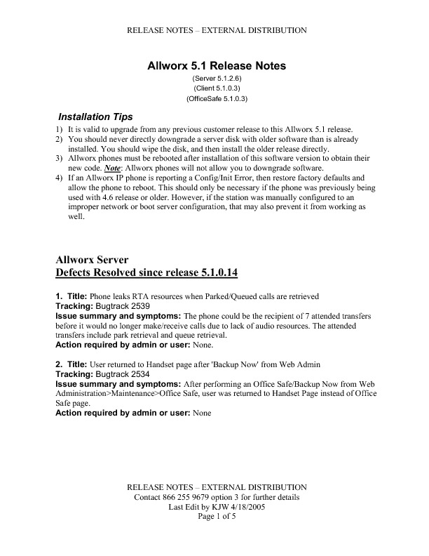 Allworx Server 5-1 2-6 Release Notes.pdf