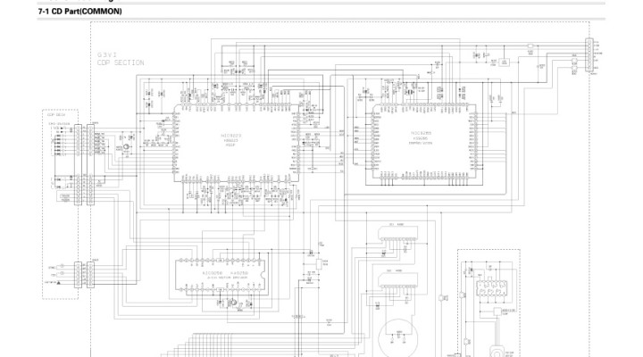 samsung crt tv schematic diagram