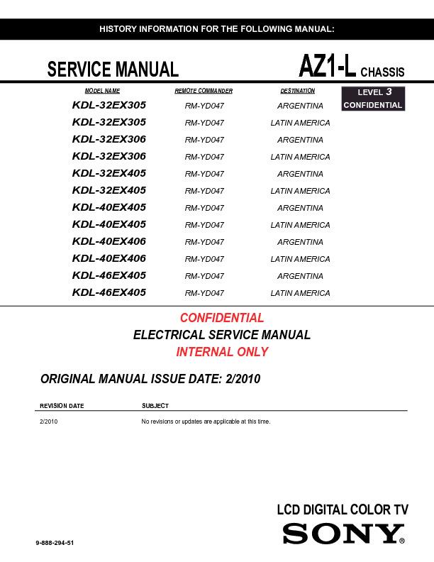 sony_kdl-32ex305_32ex306_32ex405_40ex405_40ex406_46ex405_chassis_az1-l_level-3_confidental.pdf