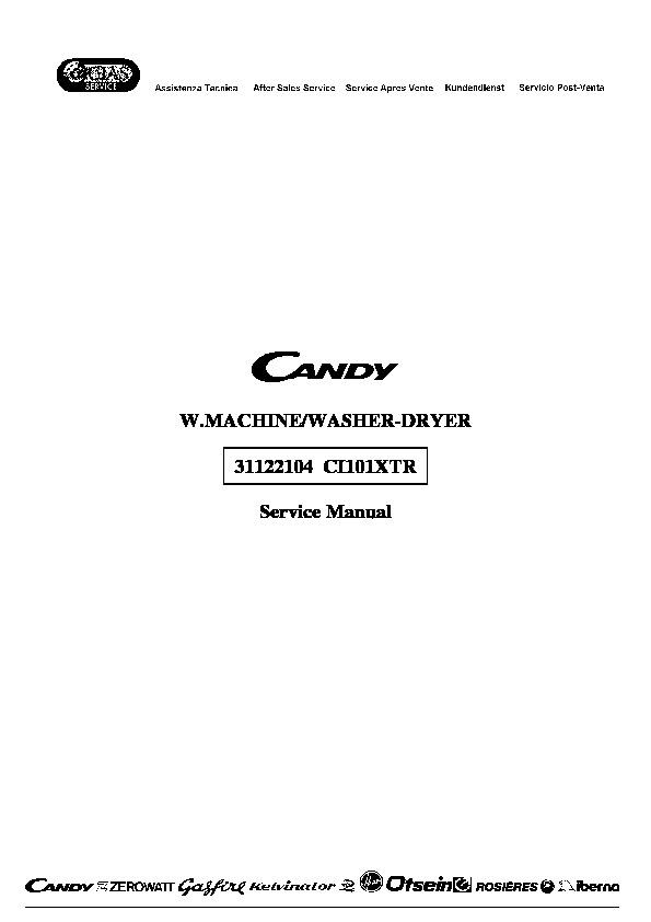Candy Candy Ci101xtr Candy Ci101xtr Pdf Diagramas De
