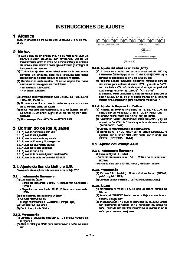 Lg Goldstar Cp29q54 Mc005a 081jadj Pdf Diagramas De Televisores Lcd Y Plasma  U2013 Diagramasde Com