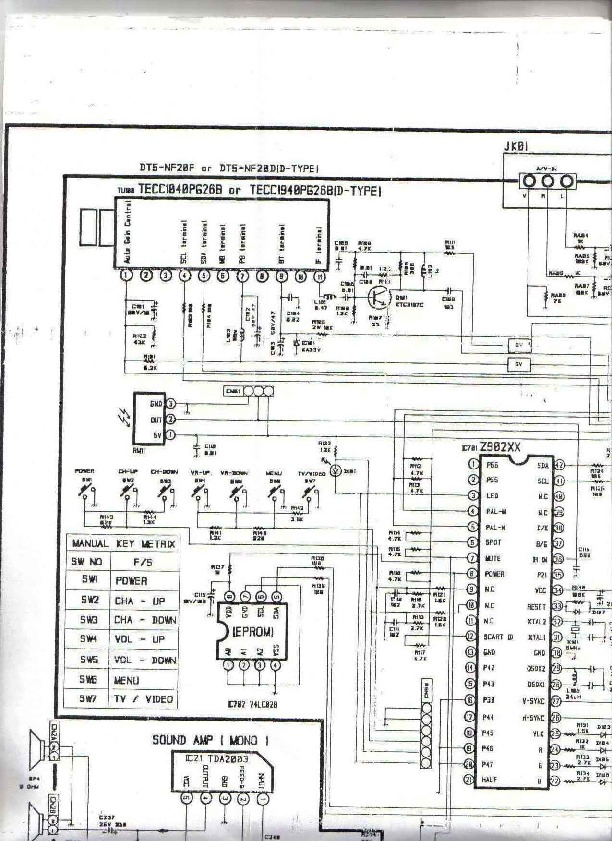 Aurora Mrt 2070 Mrt 2070 Pdf Diagramas De Televisores Lcd