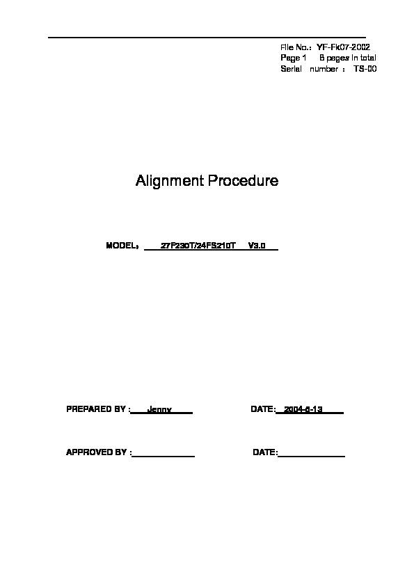 TCL 2127 M134C 29185Serv Manual[1] pdf Diagramas de