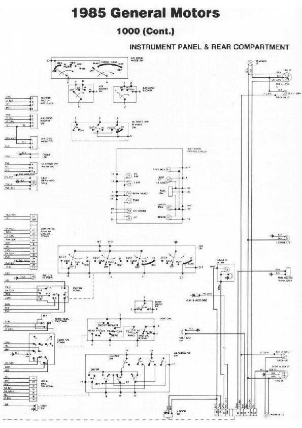 Pontiac 1000 Diag85080 Small Pdf Diagramas De Autos  U2013 Diagramasde Com  U2013 Diagramas Electronicos Y