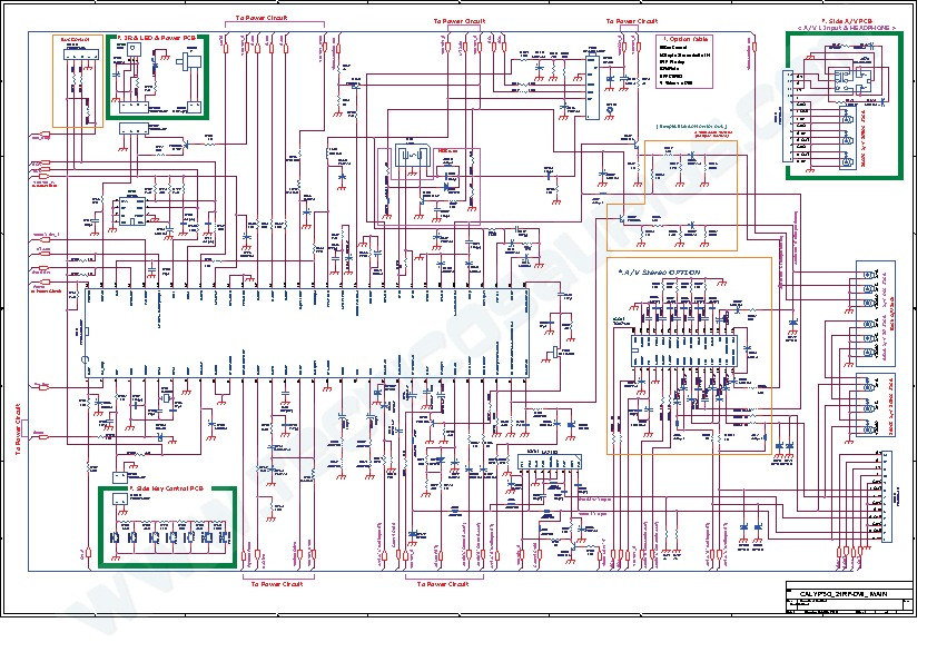 Daewoo 10243 Chassis Cx T21fb Diagrama Pdf Diagramas De
