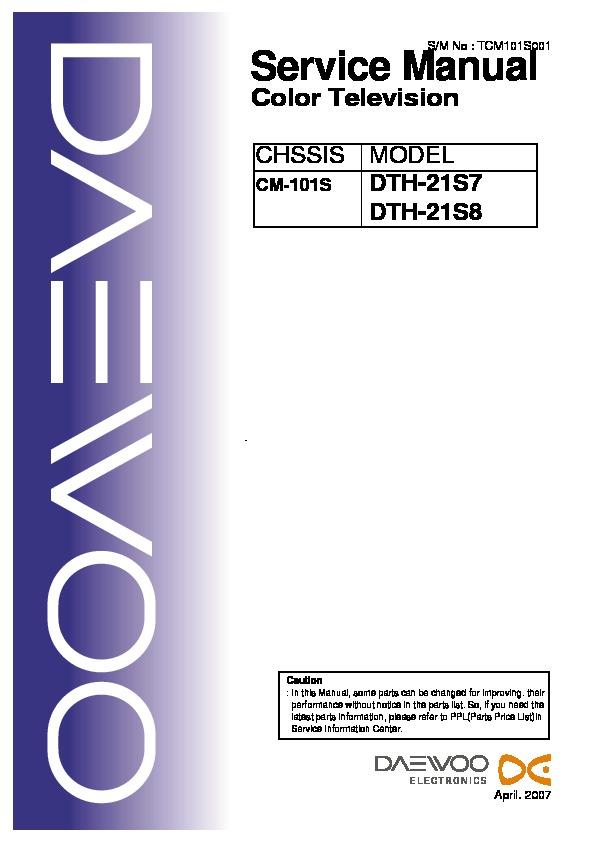 CM101S DTH21S7.pdf