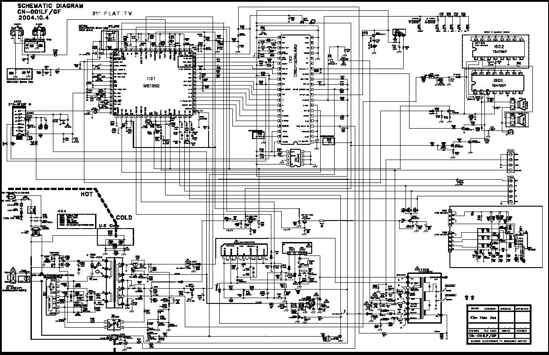 Daewoo Daewoo Dtq 2133sm Chasis Cn 001lf Pdf Diagramas De Televisores Lcd Y Plasma  U2013 Diagramasde