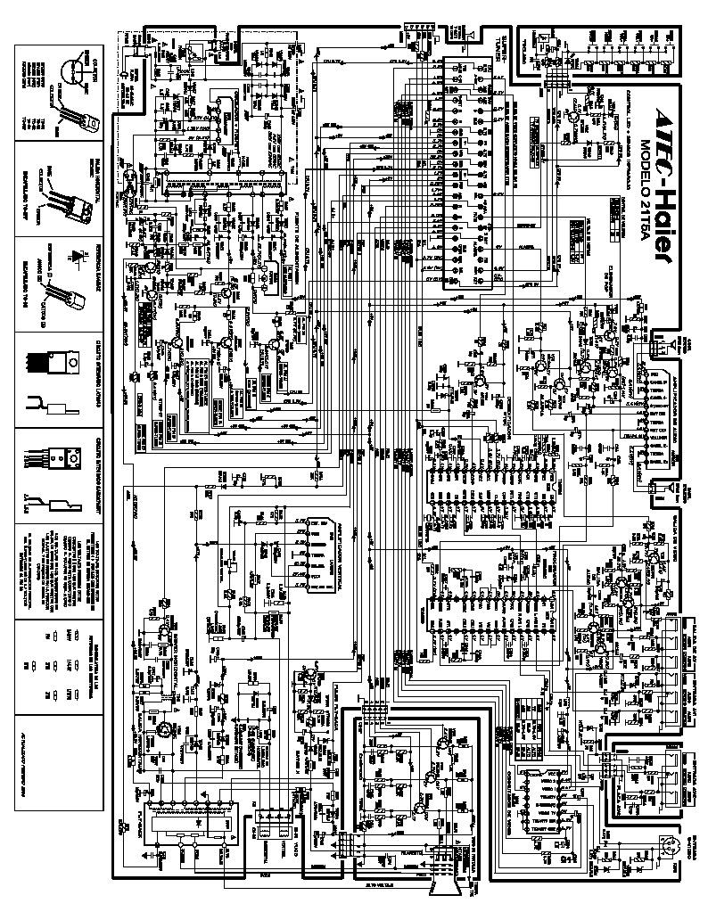 Haier Esquema Atec Haier 21t5a Pdf Diagramas De Televisores Lcd Y Plasma  U2013 Diagramasde Com