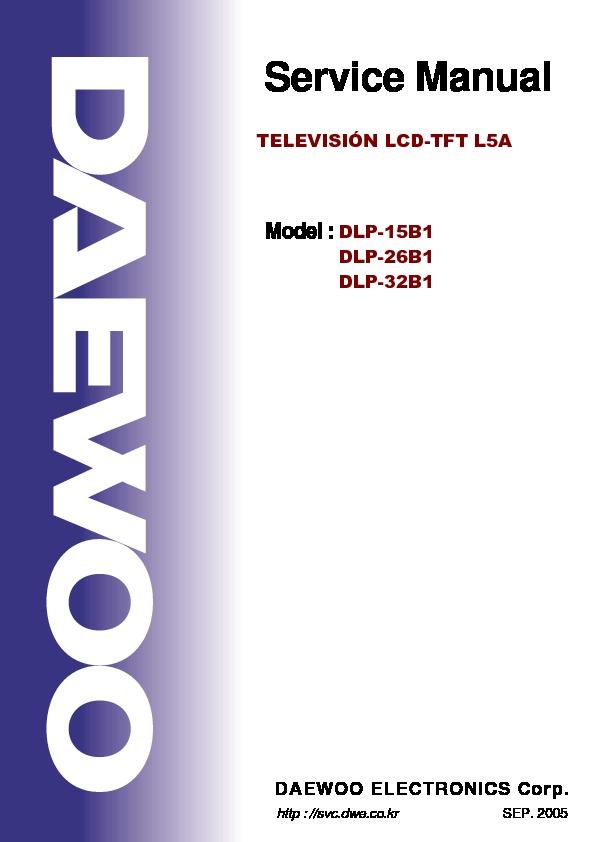 Daewoo Daewoo Dlp 15 26 32b1 Ch L5a Sch Pdf Diagramas De