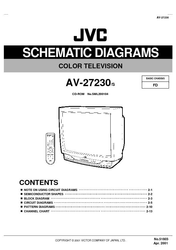 Jvc Tv Jvc Av27230 51803sch Pdf Diagramas De Televisores Lcd Y Plasma  U2013 Diagramasde Com