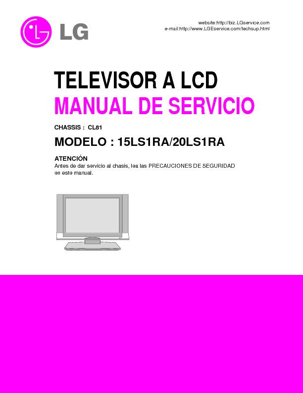 LG 15LS1RA1 Chasis CL81.pdf
