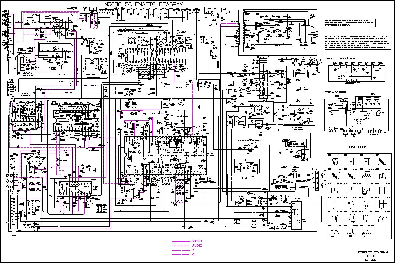 Lg Lg Cp 21q24 Chasis Mc 83c Pdf Diagramas De Televisores