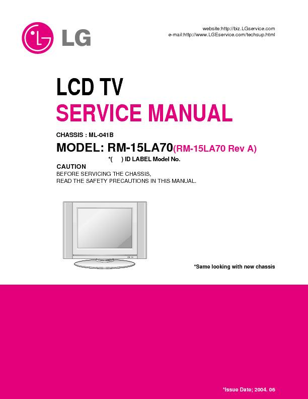 Lg Lg Rm 15la70 Pdf Diagramas De Televisores Lcd Y Plasma  U2013 Diagramasde Com  U2013 Diagramas