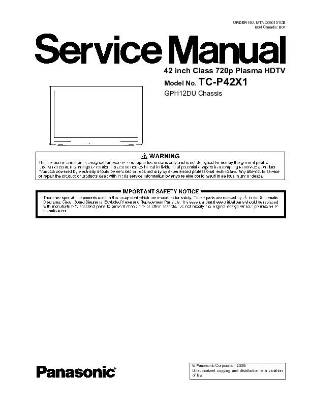 TC-P42X1 GP12DHDU.pdf