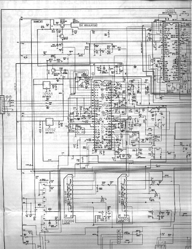 Panasonic Panasonic Ct 20g12v Chasis Teamx5 Pdf Diagramas