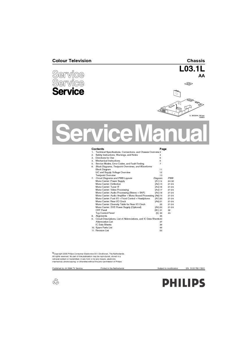 Philips 21pt6334 L03 1laa Philips L03 1laa 21pt6334 Pdf