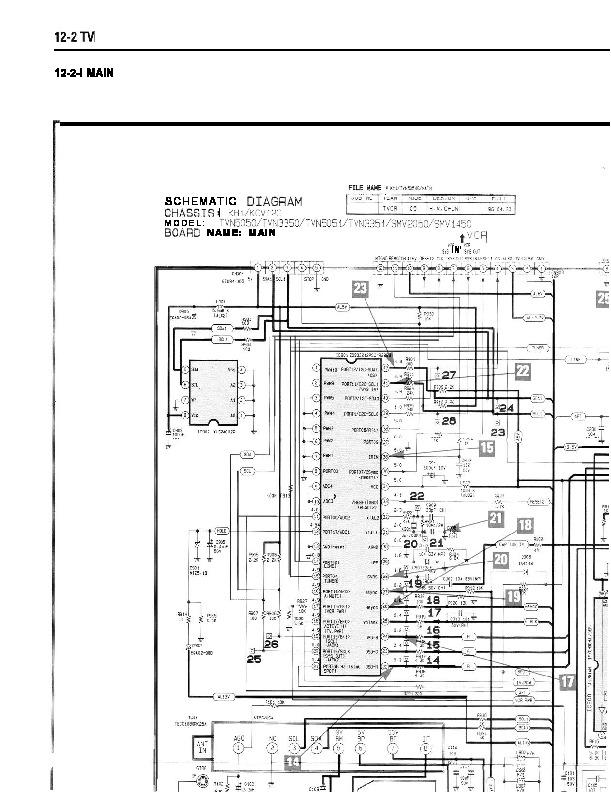 samsung ct3351 kh1  kcv12c esquema ct3351 v pdf diagramas de televisores lcd y plasma