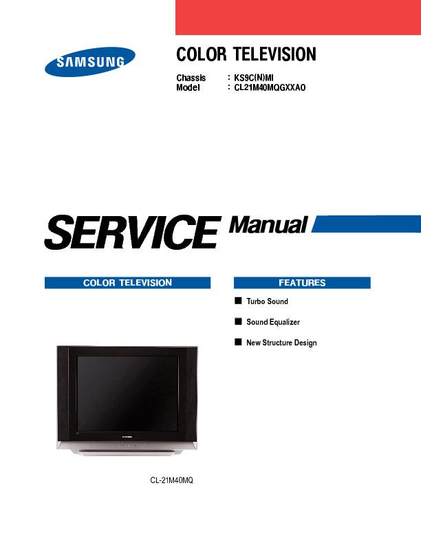 Samsung CL21M40MQGXXAO Chasis KS9C.pdf