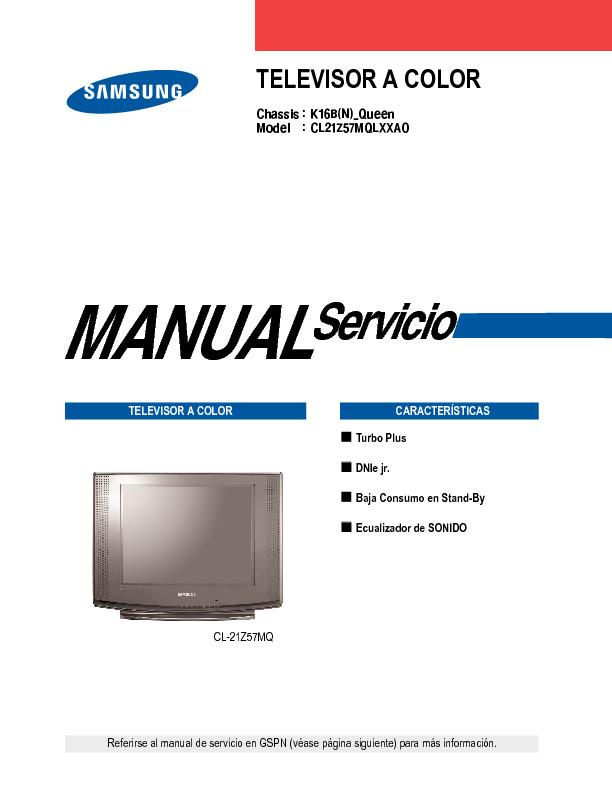 Samsung CL21Z57MQLXXAO Chasis K16B.pdf